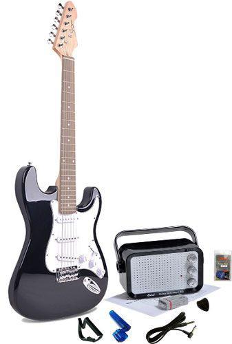 Kit Guitarra Smiger Amplificador Cable Capodastro Picks + / 0