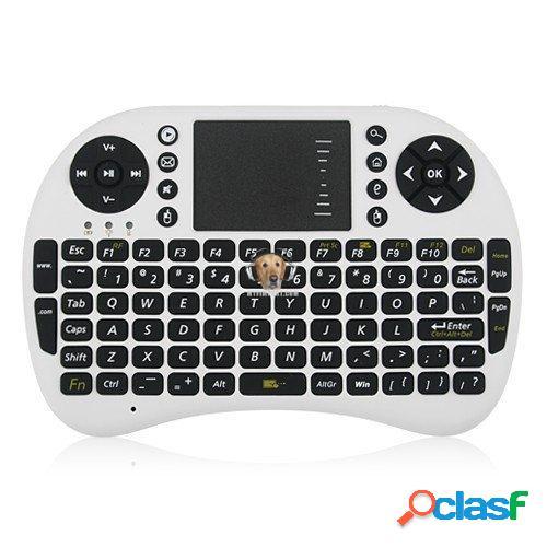 Mini Teclado con Mouse RF para Smart TV 0