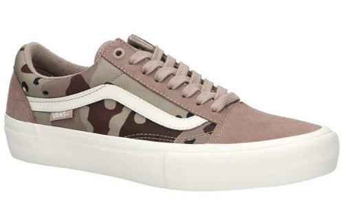 Vans Old Skool Pro Desert Camo 100% Original Zapatos Tenis 0