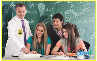 Clases a domicilio y virtuales de Física, Química y Matemáticas 3
