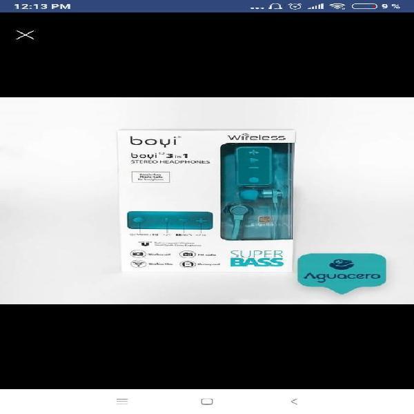 Audifonos Manos Libres Mp3 Bluetooth 0