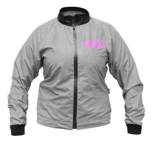 Chaqueta Impermeable Reflectiva Moto Motociclismo Mujer Dr1 0