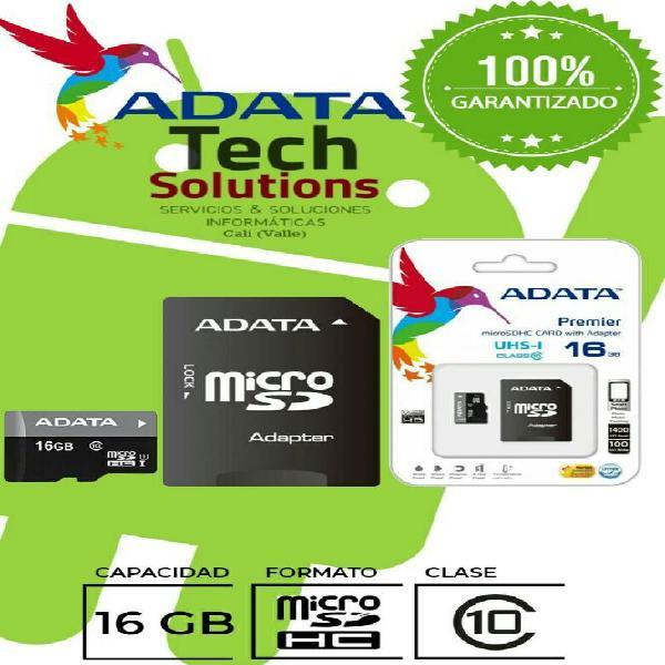 Memoria Micro Sd 16 Gb Clase 10 0