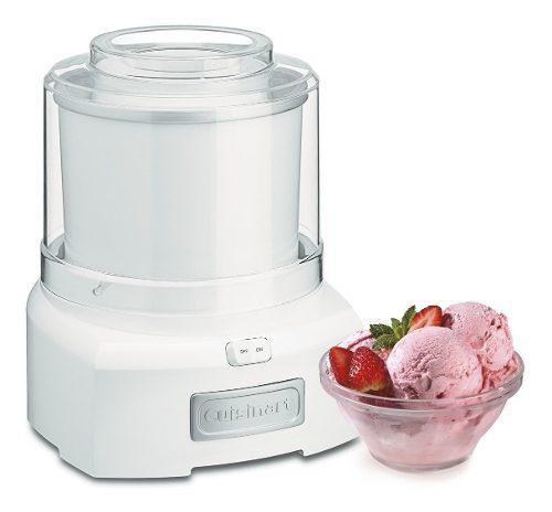 Cuisinart Ice-21r Maquina Frozen Yogurt, Helado, Sorbete 0
