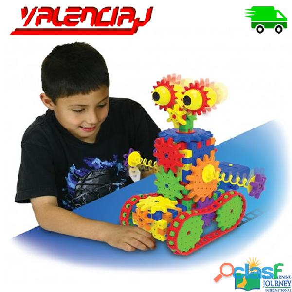 JUGUETE THE LEARNING JOURNEY ROBOT DIZZY DROID 60+ PIEZAS DE ENGRANAJES MOVILES EDUCATIVO 3