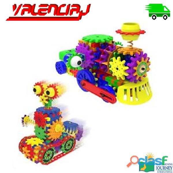 JUGUETE THE LEARNING JOURNEY ROBOT DIZZY DROID 60+ PIEZAS DE ENGRANAJES MOVILES EDUCATIVO 4