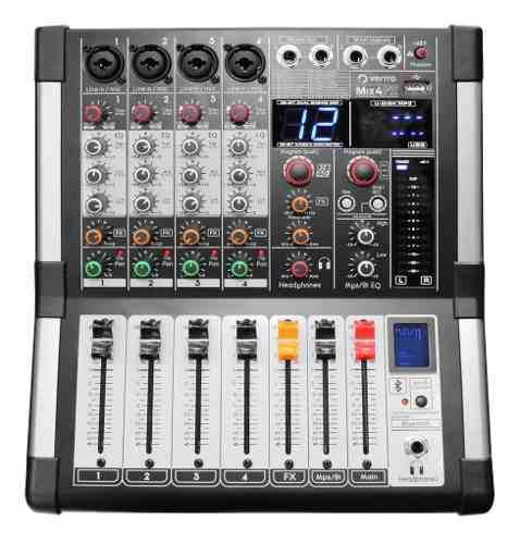 Mixer Mezcladora Consola De Audio 4 Canales Vento Mix4fx 0