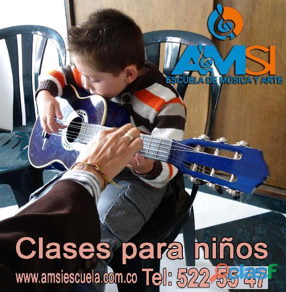CURSOS DE GUITARRA PARA NIÑOS Y ADULTOS   Amsi Escuela 4