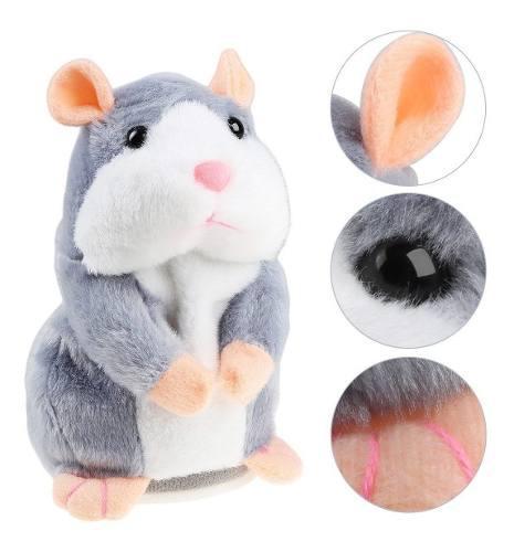Hermoso Juguete Hamster Hablador 0