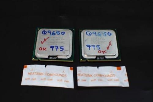 Procesador Intel Core 2 Quad Q9650 Mejor Que El Q9550 + Pad 0