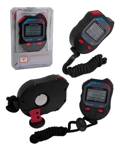Cronómetro Digital De 100 Memorias Temporizador Reloj 0