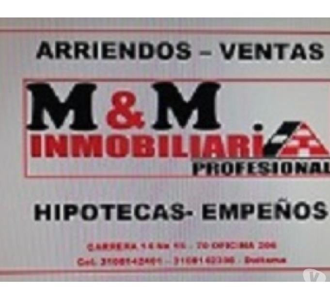 INMOBILIARIA M&M Profesional Vende Bonito apto$ 135 millones 0