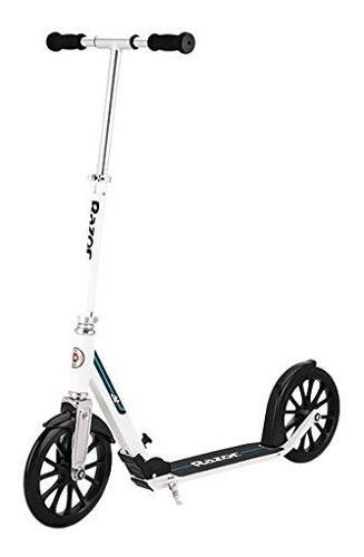 Razor A6 White Scooter Patineta Aluminio Adultos 0