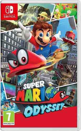 Super Mario Odyssey Nintendo Switch Sellado Mas Obsequio! 0