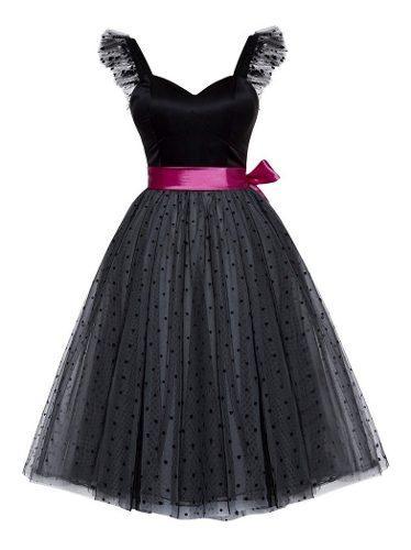 Vestidos Mujer Elegante Corto Grado Fiesta Casual Moda 0