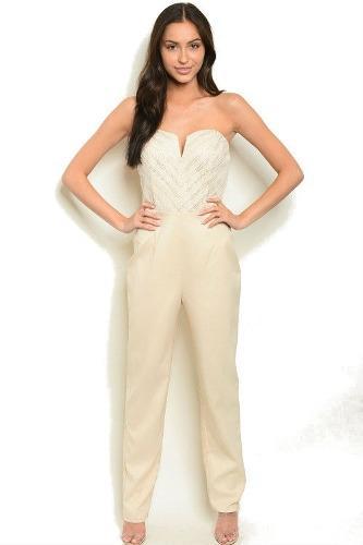 Vestidos Pantalon Enterizo Elegante Importado Mujer 0