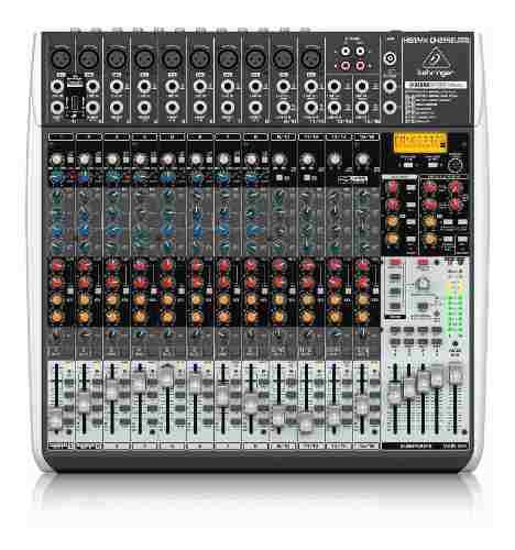 Mixer Behringer Qx2442usb Consola Pasiva Mezclador Usb Xenyx 0