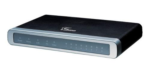 Grandstream Gateway Gxw 4008, 8 Fxs,, Soporte Para Fax T38. 0