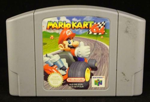 Juego Mario Kart Nintendo Ultra 64 0