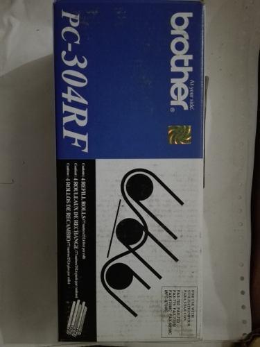 Película Carbonada Pc-304 Rf Para Fax Brother 750/770/775 0