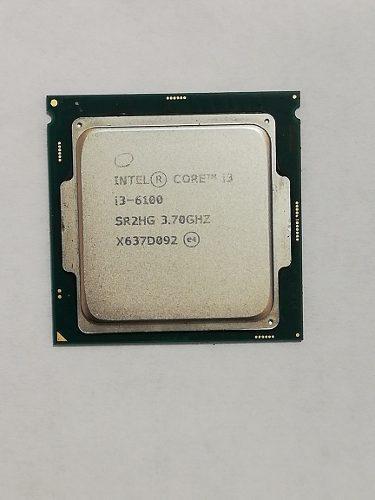 Procesador Intel Core I3-6100 3.70ghz 0