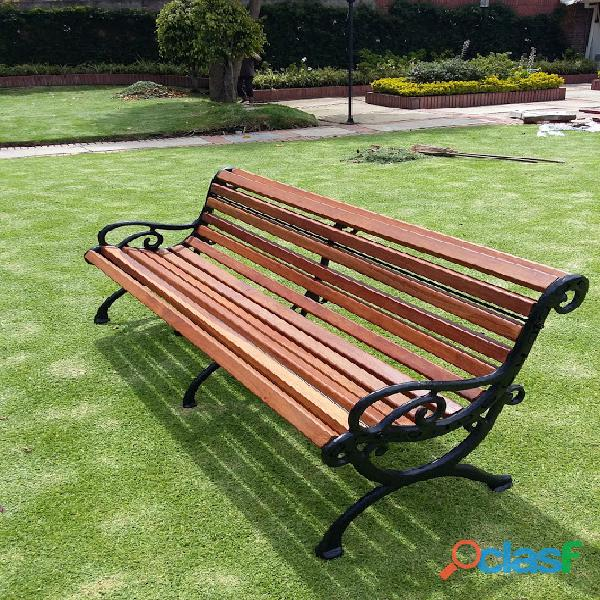 Muebles, mesas, sillas, bancas en aluminio fundido , para exterior, jardin terrazas, piscinas