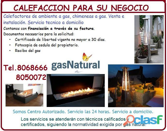 Servicio técnico, reparación, instalación y mantenimiento de estufas a gas, hornos.8068666