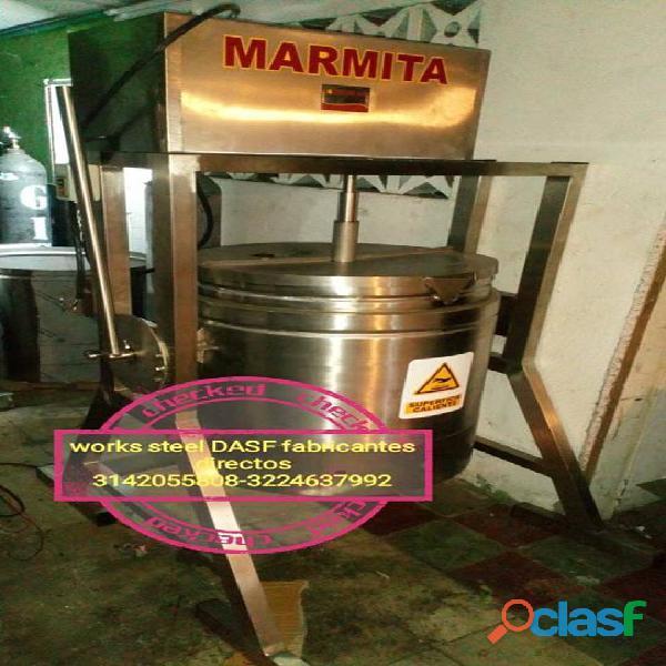 Marmitas industriales (reposterias) marmitas para arequipes