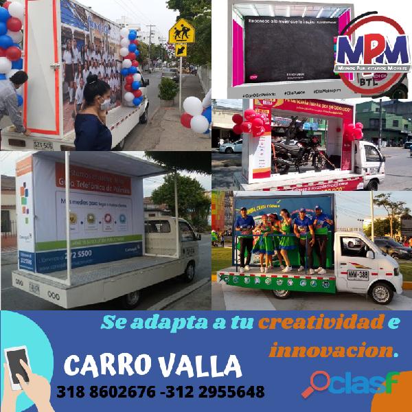 A.a.a carro vallas Cali, Barranquilla,Santa Marta