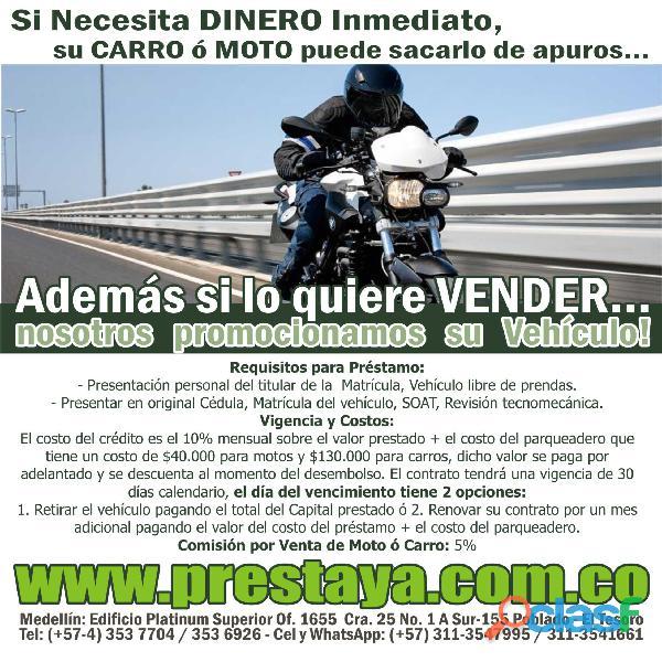 Créditos Ágiles y Seguros Sobre Carros y Motos En Medellin