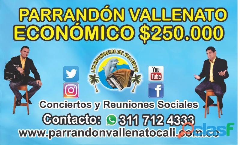 Parrandon vallenato en cali watssapp 3117124333