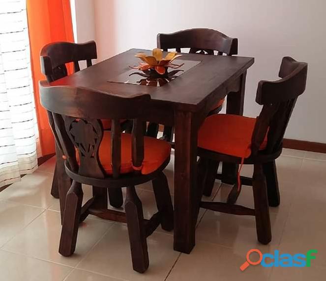 Muebles de madera para hogar