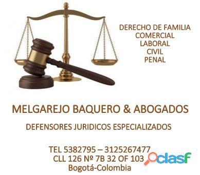 Abogados, derecho de familia, divorcios