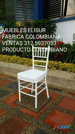 Muebles elisur: sillas para eventos ventas 3125937053