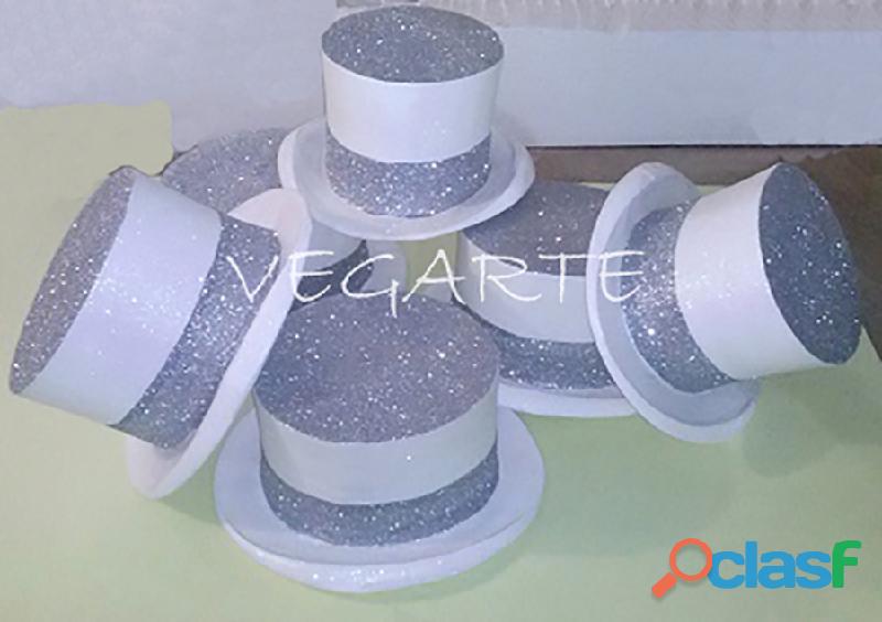 Sombreros de icopor para fiestas y eventos