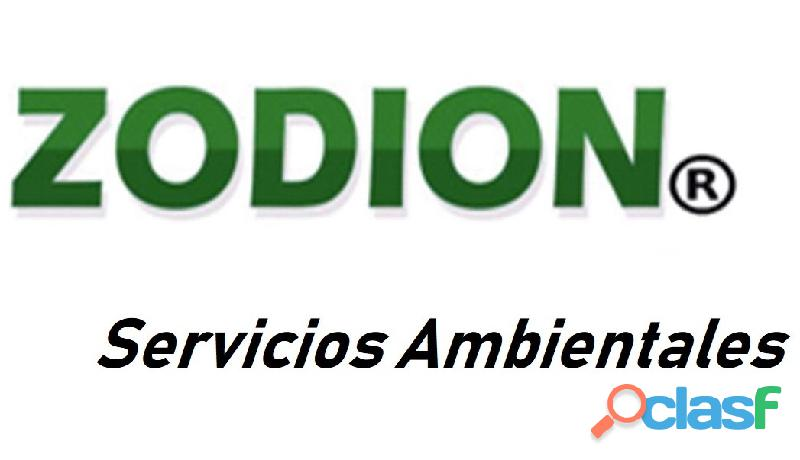 Soluciones ambientales zodion...servicio ecológico.