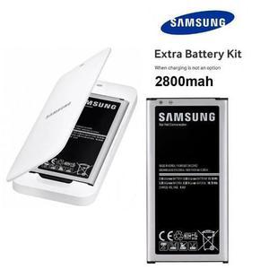 Batería + dock cargador genuino samsung galaxy s5 g900