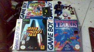 Cajas para de juegos game boy, game boy color
