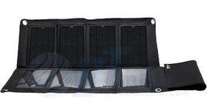 Cargador panel solar lifemate 8 celdas 28w 19v 2.1a apolo 3