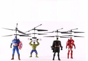 Novedoso súper héroes juguetes voladores juguetes niños