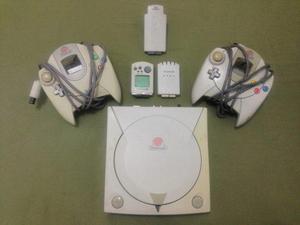 Sega dreamcast mod vga + 2 controles + 10 juegos