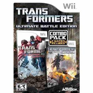 Videojuego transformers ultimate battle edition - wii [nint