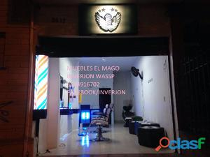 muebles de peluqueria fabrica mago inverjon medellin