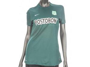 Camiseta nike atletico nacional visitante para mujer