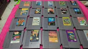 Lote de juegos originales de nintendo nes