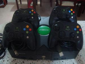 Consola xbox clasico negro