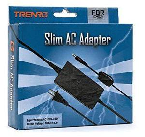 Genérico Adaptador De Corriente Ac Ps2 Slim Series