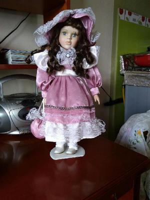 Muñeca de porcelana canadiense antigua - san juan de pasto