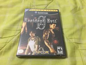 Resident evil 0 zero nueva y sellada nintendo gamecube