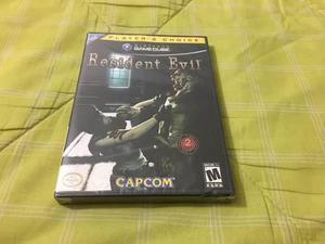 Resident evil 1 nueva y sellada nintendo gamecube